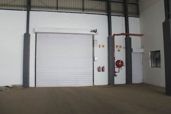 The main delivery door for the area of the Midrand Market's future expansion.