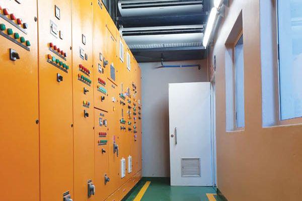 The plants control centre.