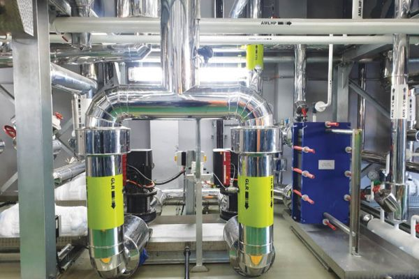 A secondary cooling circuit – glycol.