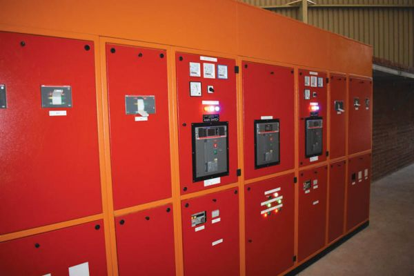 The control panels for the facility.
